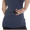Giro Mobility Koszulka V-Neck niebieski
